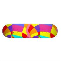 Colorful Pattern skateboard