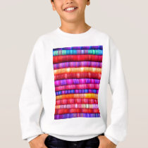 Colorful pattern sweatshirt