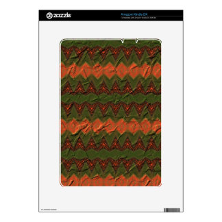 Colorful pattern with arrow shapes kindle DX skins