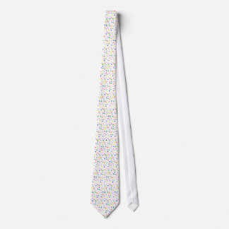Colorful patterns of polka dots on ties