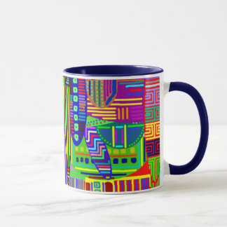 COLORFUL Patterns on Mug