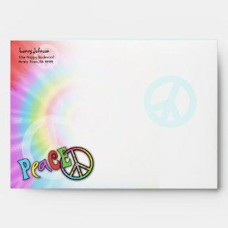 Colorful PEACE Envelope