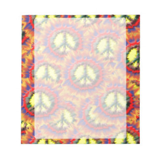 Colorful Peace Notepad