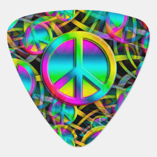 Colorful PEACE seamless pattern + your ideas Pick
