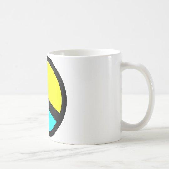 Colorful Peace Sign Coffee Mug