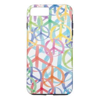 Colorful Peace Symbols iPhone 7 Plus Case
