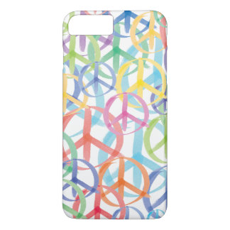 Colorful Peace Symbols iPhone 8 Plus/7 Plus Case