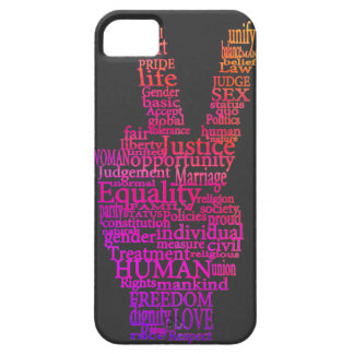 Colorful Peace Typography iPhone5 case