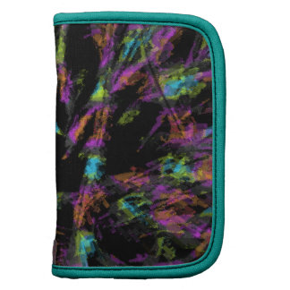 Colorful Peacock Abstract Organizers