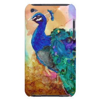 Colorful Peacock AI Barely There iPod Case