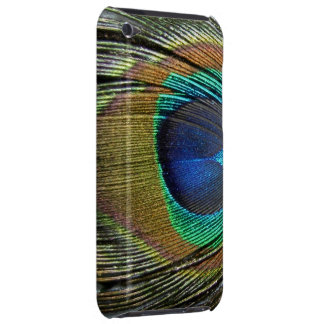 COLORFUL PEACOCK FEATHER iPod TOUCH COVERS
