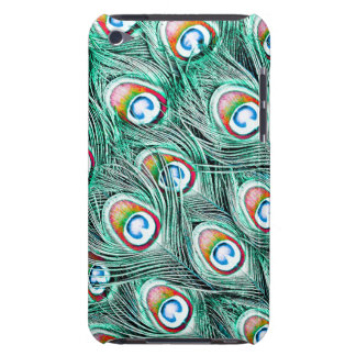 Colorful Peacock Feathers iPod Case-Mate Case