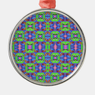 Colorful Peacock inspired Pattern - Ornament