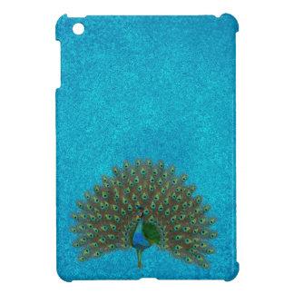 Colorful peacock iPad mini cases