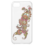 colorful peacock iphone case cover for iPhone 5C