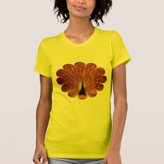 Colorful Peacock - Women's T-Shirt