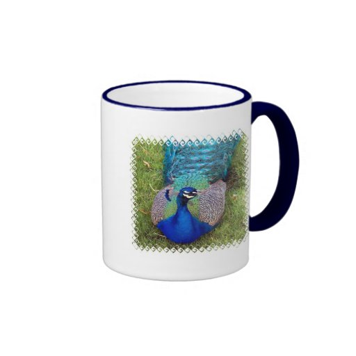 Colorful Peafowl  Coffee Mug
