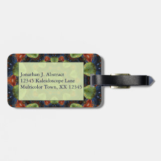 Colorful Pebble Kaleidoscope Luggage Tag