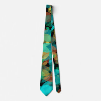 Colorful Pebbles on the Beach Neck Tie