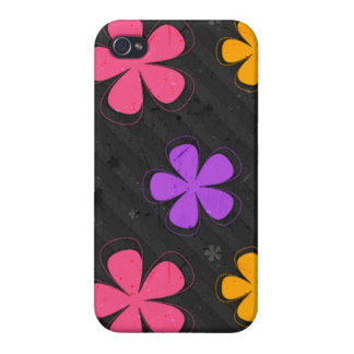 Colorful Pedals - iPhone 4 Case