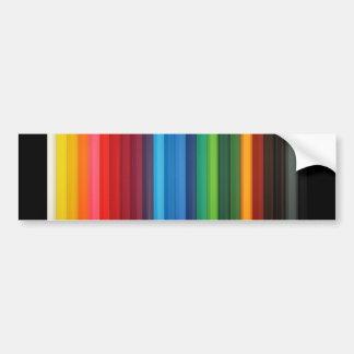 colorful_pencils-1920x1200 car bumper sticker