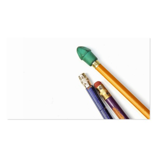 Colorful Pencils Business Cards
