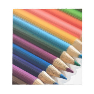 Colorful Pencils Notepad