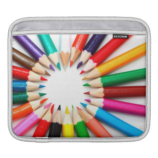 Colorful Pencils Sleeve For iPads