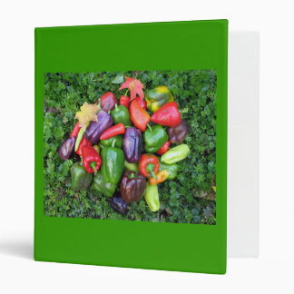 Colorful Pepper Binder
