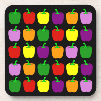 Colorful Peppers Coaster