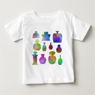 Colorful Perfume Bottles. Baby T-Shirt