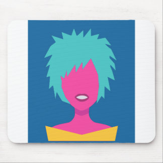 Colorful Person Mouse Pad