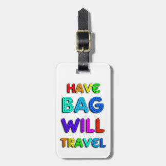 Colorful Personalized Airplane Luggage Tag