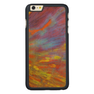 Colorful Petrified Wood close-up Carved Maple iPhone 6 Plus Slim Case