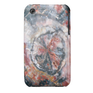 Colorful Petrified Wood photo iPhone 3 Cover