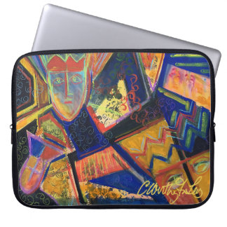 Colorful Petroglyphs Laptop Sleeve
