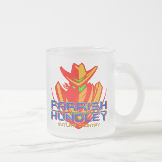 Colorful PHB Outlaw Country Frosted Mug
