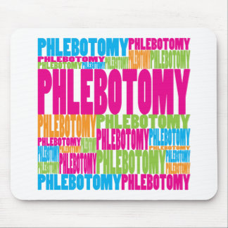 Colorful Phlebotomy Mouse Pad