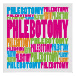 Colorful Phlebotomy Print