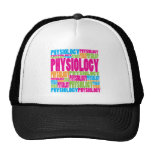Colorful Physiology Trucker Hats