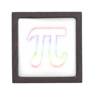 Colorful Pi Number   Geek Gift Box