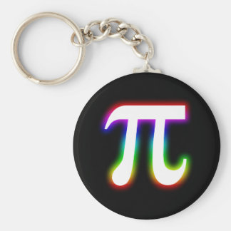 Colorful Pi Number | Math Keychain