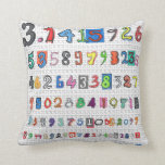 Colorful Pi Pillows