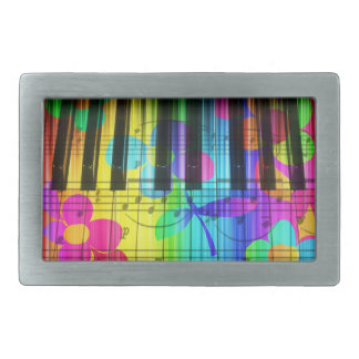 Colorful Piano Belt Buckle