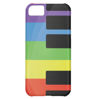 Colorful Piano iPhone 5C Case