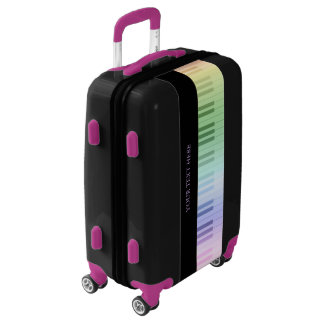 Colorful Piano Keys   Music Fan Gifts Luggage