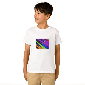 Colorful Piano Keys T-Shirt