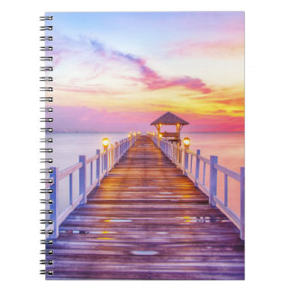 Colorful Pier Notebook