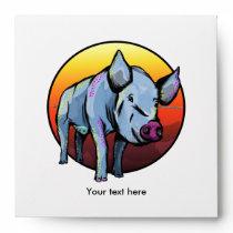 Colorful Pig Envelope