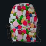 "Colorful pills bag<br><div class=""desc"">different types and colorful allopathic pills</div>"